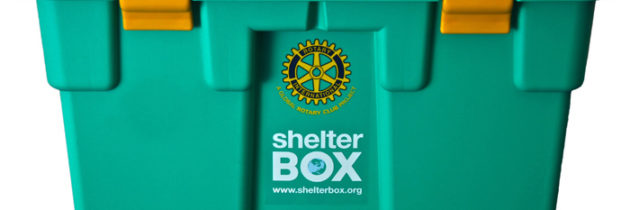 Shelter box – Une action reconnue du Rotary International // Every year, hundreds of thousands of families across the world lose everything when disasters strike. Often with no warning, families lose their homes, their possessions and their livelihoods. Every day they are faced with a battle for survival.