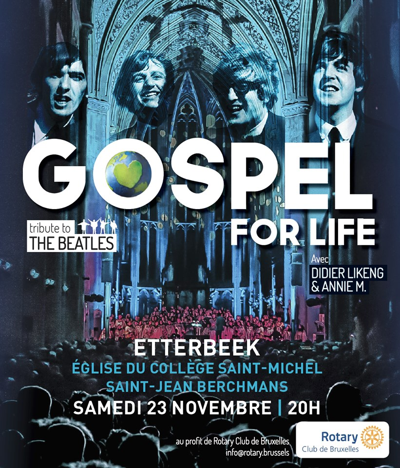 Gospel for Life for Rotary Brussels